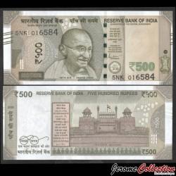 INDE - Billet de 500 Roupies - Lettre L - 2020 P114t