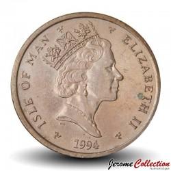 ILE DE MAN - PIECE de 2 Pence - 1994