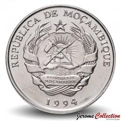 MOZAMBIQUE - PIÈCE de 500 Meticais - Gare ferroviaire de Beira - 1994