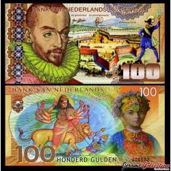 Ceylan néerlandais - Billet de 100 Gulden - 2016 0100