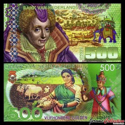 Ceylan néerlandais - Billet de 500 Gulden - 2016
