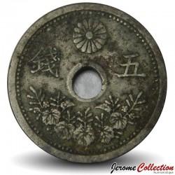 JAPON - PIECE de 10 Sen - Taishō- 1922