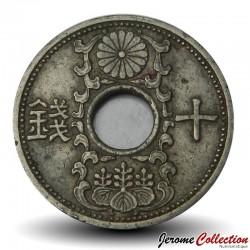JAPON - PIECE de 10 Sen - Shōwa - 1936 Y#54