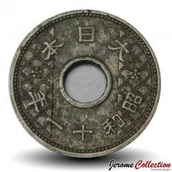 JAPON - PIECE de 10 Sen - Shōwa - 1936