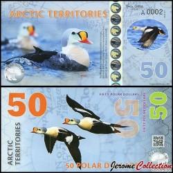 Arctic Territories - Billet de 50 Polar DOLLARS - 2017 0050