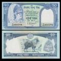 NEPAL - Billet de 50 Roupies - Jharal - 2000 P33c2