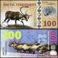 Arctic Territories - Billet de 100 Polar DOLLARS - 2017