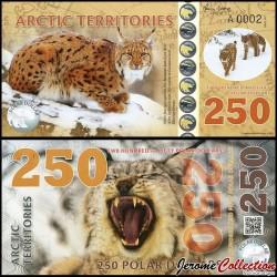 Arctic Territories - Billet de 250 Polar DOLLARS - 2017