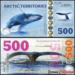 Arctic Territories - Billet de 500 Polar DOLLARS - 2017 0500