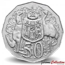 AUSTRALIE - PIECE de 50 Cents - Elizabeth II 2ème effigie - 1978