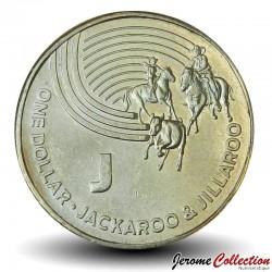 AUSTRALIE - PIECE de 1 Dollar - Série Alphabet - Lettre J - Jackaroo - 2019 Km#new