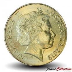 AUSTRALIE - PIECE de 1 Dollar - Série Alphabet - Lettre J - Jackaroo- 2019