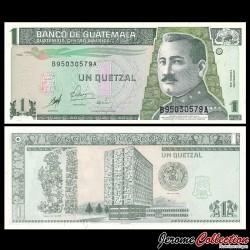 GUATEMALA - Billet de 1 Quetzal - 1998