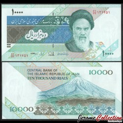 IRAN - Billet de 10000 Rials - Mont Damavand - 2015 P146i