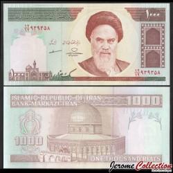 IRAN - Billet de 1000 Rials - Mosquée Omar - 2013 P143g