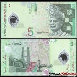 MALAISIE - Billet de 5 Ringgit - Tours jumelles Petronas - 2004 P47a2
