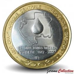 GABON - PIECE de 4500 FRANCS CFA - 2005