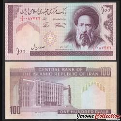 IRAN - Billet de 100 Rials - Ayatollah Moddaress - 1998 P140f