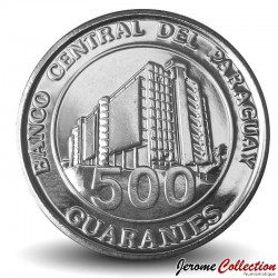 PARAGUAY - PIECE de 500 Guaranies - Général Bernardino Caballero - 2019