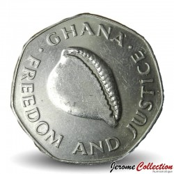 GHANA - PIECE de 200 Cedis - Coquillage Cauri - 1998 Km#35