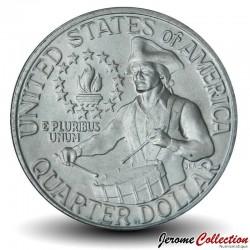 ETATS UNIS / USA - PIECE de 25 Cents - Bicentenaire de l'indépendance américaine - P - 1976 Km#204