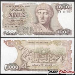 GRECE - Billet de 1000 Drachme - Apollon - 1987 P202a