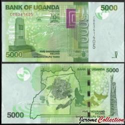 OUGANDA - Billet de 5000 Shillings - Mémorial de la Seconde Guerre mondiale - 2019 P51e