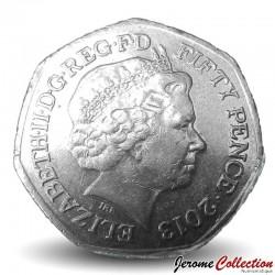 ROYAUME UNI - PIECE de 50 Pence - Christopher Ironside - 2013