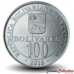 VENEZUELA - PIECE de 100 Bolivars - 2016 Y#106