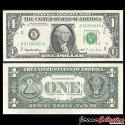 ETATS UNIS / USA - Billet de 1 DOLLAR - 1995 - B(2) New York P496aB