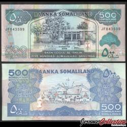 SOMALILAND - Billet de 500 Shillings - 2008 P6g