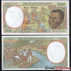 TCHAD (BEAC) - Billet de 1000 Francs - Récolte de café - 2000 P602Pg