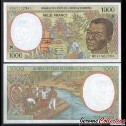 GUINEE EQUATORIALE (BEAC) - Billet de 1000 Francs - Récolte de café - 2000 P502Ng
