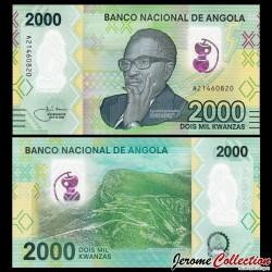 ANGOLA - Billet de 1000 Escudos - Dr. António Agostinho Neto - Polymer - 2020