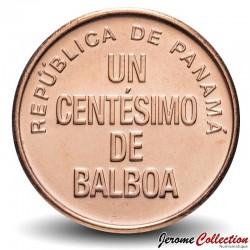 PANAMA - PIECE de 1 centésimo de BALBOA - Urracá - 2018