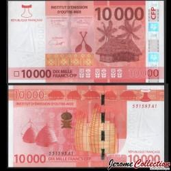 Territoires Français du Pacifique - Billet de 10000 Francs - 2020 P8b