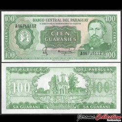 PARAGUAY - Billet de 100 Guaranies - Ruines d'Humaita - 1982 P205d