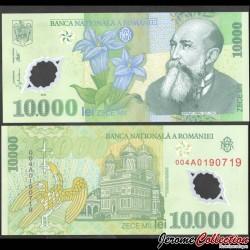ROUMANIE - Billet de 10000 Leu - Polymer - 2000 P112a