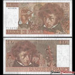 FRANCE - BILLET de 10 Francs - Berlioz - 3.3.1977 P150c5