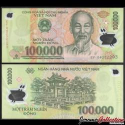 VIETNAM - Billet de 100000 Dong - Polymer - 2004 P122a