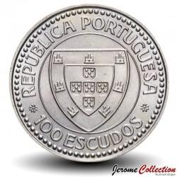 PORTUGAL - PIECE de 100 Escudos - Gil Eanes - 1987