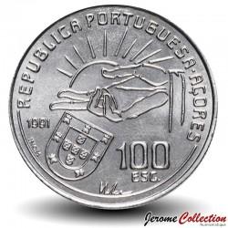 PORTUGAL - PIECE de 100 Escudos - Antero de Quental - 1991