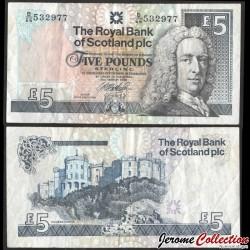 ECOSSE - Royal Bank of Scotland - Billet de 5 Pounds - Lord Ilay - 1999 P352c