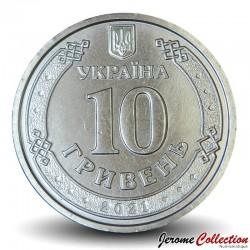 UKRAINE - PIECE de 10 Hryven - Ivan Mazepa - 2021 Km#NEW