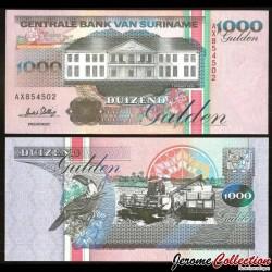 SURINAME - Billet de 1000 Gulden - 1.3.1995 P141b