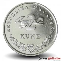 CROATIE - PIECE de 2 Kune - Thon rouge - 2013