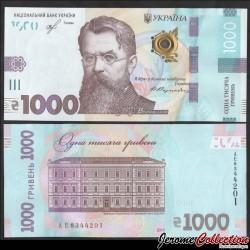 UKRAINE - Billet de 1000 Hriven - Volodymyr Vernadskiy - 2019 P129a