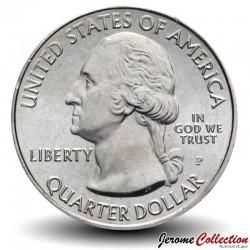 ETATS UNIS / USA - PIECE de 25 Cents - America the Beautiful - White Mountain - New Hampshire - 2013 - P