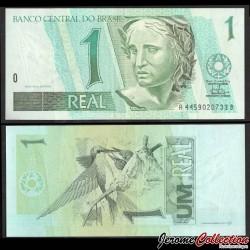 BRESIL - Billet de 1 Real - Colibris - 1997 P243Ab