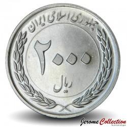IRAN - PIECE de 2000 Rials - Master Plan - 2012